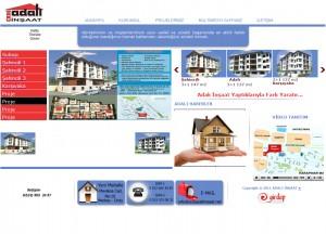 inşaat web sitesi tasarımı